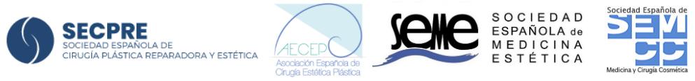 logo secpre aecep semcc seme sociedad española de cirugia plastica reparadora y estetica españa cosmetica aumento de pecho